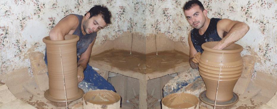 Εργαστήριο αγγειοπλαστικής, Γιώργος & Νίκος Μάμιδας, στο Μαρούσι